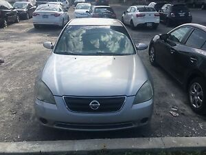 Nissan altima 2003 NEGOCIABLE