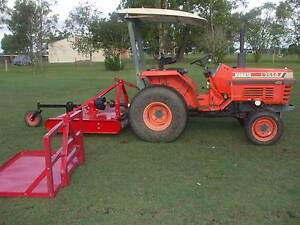 Kubota L2550 Tractor with Slasher Grafton Clarence Valley Preview