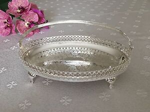 Queen Anne Silver Plated Small Oval Tray BonBon Dish- Gift & Queen Anne Silver Plated   eBay