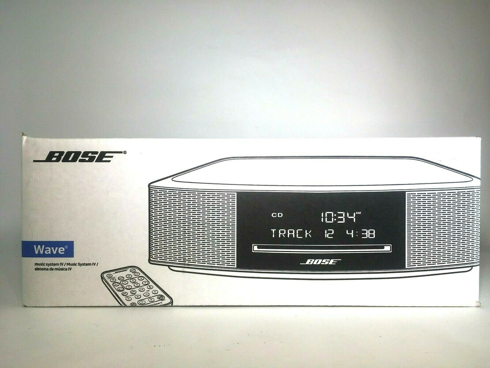 Bose Wave Music System IV with Remote, CD Player and AM/FM R