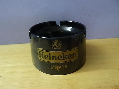 Vintage Black old Plastic Heineken Beer Ashtray mebel italy model exclusive for
