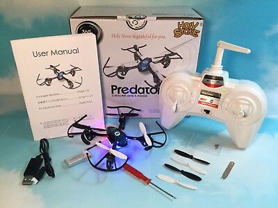 Holy Stone HS170 Predator Mini Quadcopter Drone Headless Standard operating procedure Great Condition