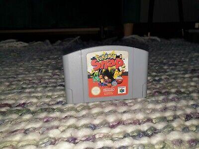Pokemon Snap Nintendo N64 Cartridge PAL *German Language*