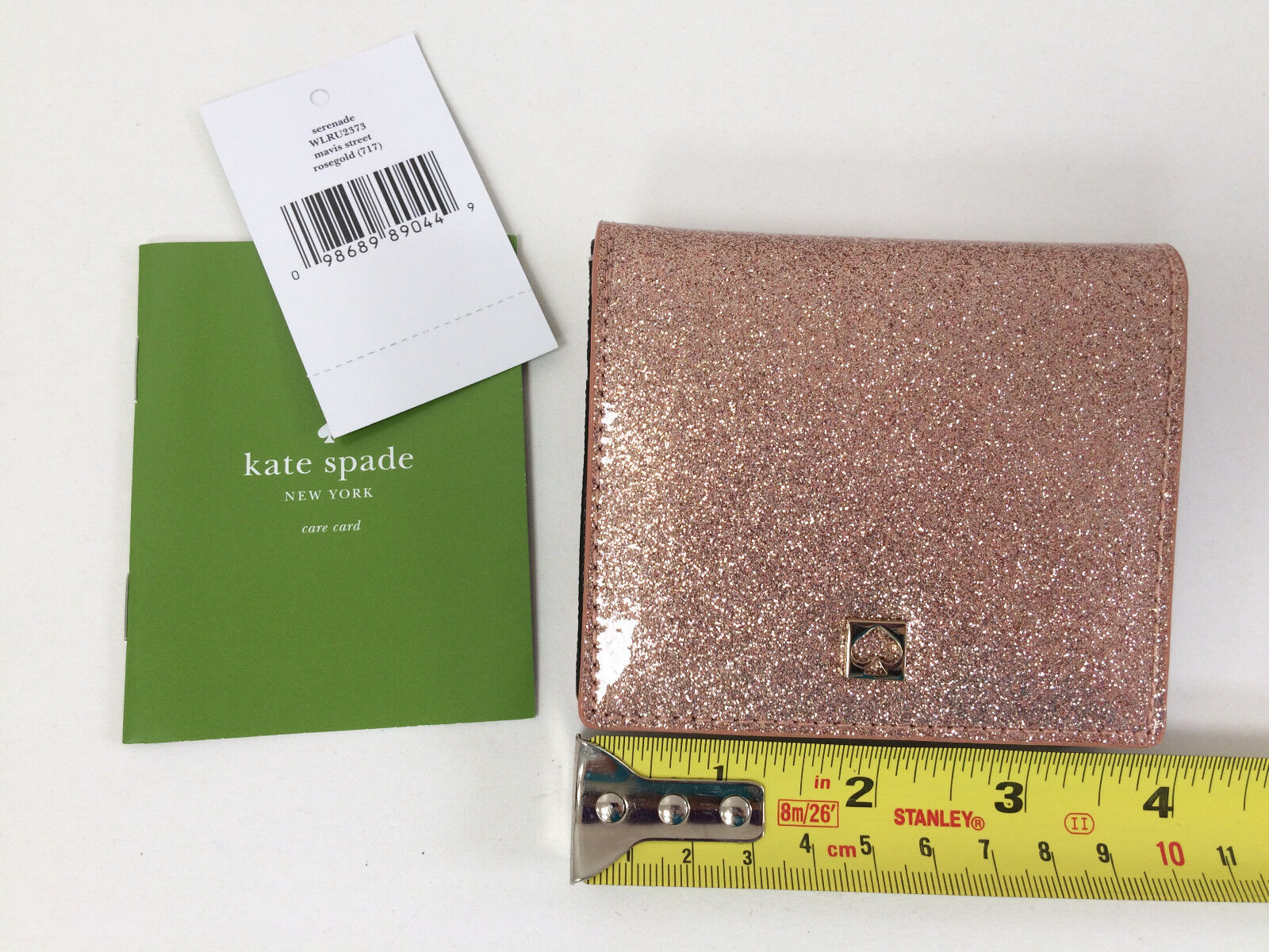 NWT Kate Spade Mavis Street Neda MD Davis Serenade Wallet Cosm Case