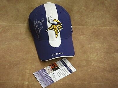 Cris Carter Minnesota Vikings Signed Baseball Hat (HM205)
