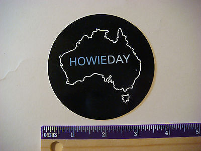 Collectible STICKER ~ HowieDay debut album: AUSTRALIA ~ In Stores (Australia Stores)