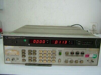 Hp 8903a Audio Analyzer 2hz - 100khz Opt 001