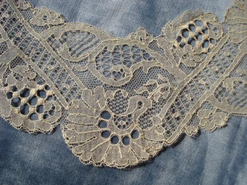 antique french 1900 Calais lace length