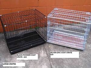 NEW Large Collapsible Metal Pet /Dog Puppy Cage Crate- METAL TRAY Kingston Logan Area Preview