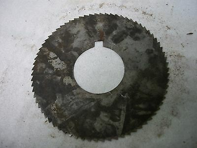 Used Milling Cutter 2 34 X .017 X 1 Saw Slotting.