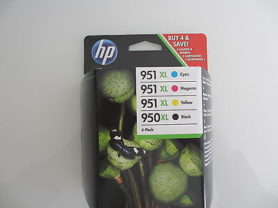 VALUE PACK C2P43AE HP Officejet  PRO 8100  No.950XL blk+ No.951XL cmy Exp.2020 segunda mano  Embacar hacia Spain