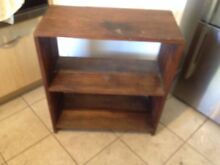 40's era small hardwood bookshelf Bulimba Brisbane South East Preview