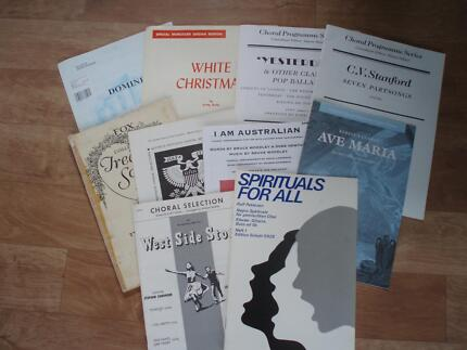 Choral Sheet Music Warners Bay Lake Macquarie Area Preview