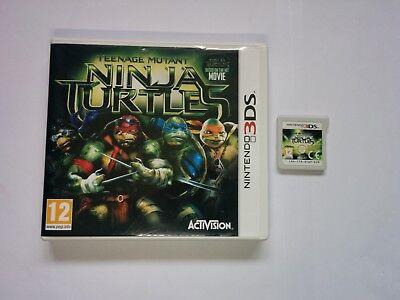 Teenage Mutant Ninja Turtles: The Movie 2014 - Nintendo 3DS Game - 2DS, XL, TMNT