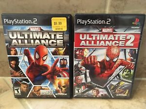 Ultimate Alliance Brand new sealed PlayStation 2 (ps2) - $60 OBO