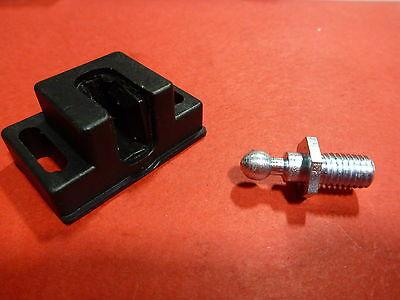 8020 Equivalent - T-slot Black Plastic Ball Latch Kit - 10 15 Series - 4487