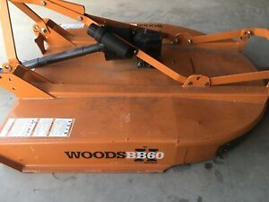 Woods bb60 bush hog