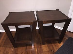 Wooden End Tables