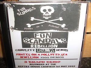 Fun Scandals Demo & Live Punk CD Set/Sex Pistols/Sham 69/Uk Subs/GBH/The Clash