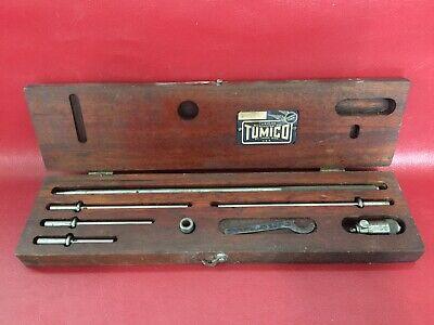 Vintage Scherr-tumico 1-65 Inside Tubular Micrometer Kit