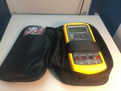 Fluke 87 True Rms Multimeter ---calibrated--- W New Leads Case