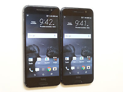 Lot of 2 HTC One A9 2PQ9120 AT&T Smartphones Power On Good LCD AS-IS GSM