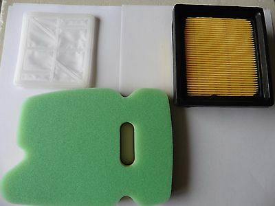 Air Filter Set Fits Partner Husqvarna K-750 3 Pc Combo