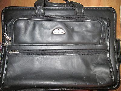 Samsonite Classic Business 3 Gusset Large Toploader Black w/Separate Laptop Case