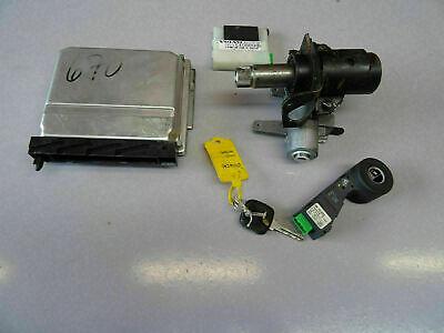 2002 Volvo XC90 V70 S60 2.4 D5 163 engine ECU kit with ignition & key 08677708
