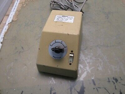 Nikon Xn Microscope Illuminator Transformer 3-6v 3.3a 2q-17.75