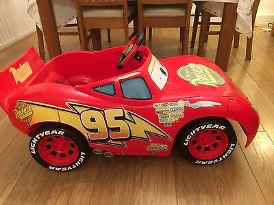 Disney Cars 3 Lighting McQueen Electric 6V Children's Ride On Car for sale  Basildon