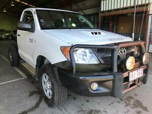 2007 Toyota Hilux SR 4X4 Diesel Turbo Manual Single Cab/Chassis Eagle Farm Brisbane North East Preview