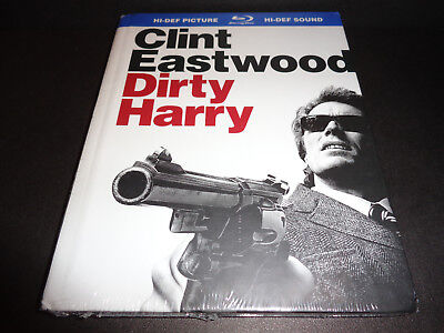 DIRTY HARRY DIGI-BOOK-Detective Clint Eastwood always gets his man -- or else
