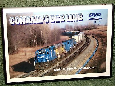 "n012 TRAIN VIDEO DVD ""CONRAIL'S BEE LINE"" 1980'S"