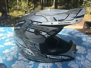 Zox Dion Design Tribe motocross/dirt bike Youth L helmet