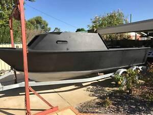 6.9 Meter Stessl Alloy Craft Project Boat
