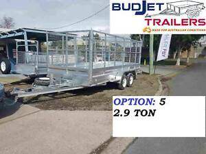 TRAILER HIRE RENTAL BRISBANE QLD 15 x 6.6 FT 2.9t CAGED FROM $90