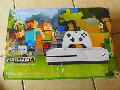 Microsoft Xbox One S Minecraft Favorites 500 Gb White Console