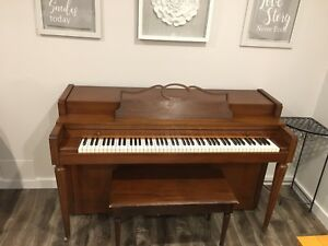 Piano SOLD