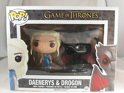 Game of Thrones Funko Pop - Daenerys & Drogon (Metallic) 2 Pack