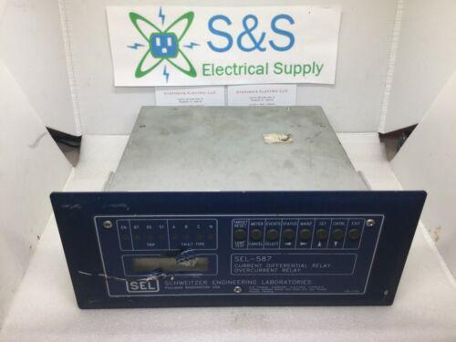 Schweitzer Engineering Laboratories SEL-587, P/N 0587103X531 OVERCURRENT RELAY