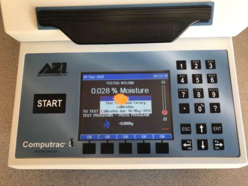 ( LOWERED PRICE)  MOISTURE ANALYZER,COMPUTRAC MAX 4000/XL