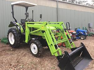 Agrison Tractor Aprox 45  HP 4in1 bucket 50 hrs slasher Kangaroo Valley Shoalhaven Area Preview