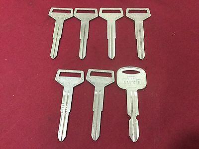 Toyota By Curtis Automotive Tr38 Hy7 Key Blanks Set Of 7 - Locksmith