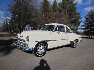 Beautiful and Rare 1951 Chevrolet 2dr Sport Coupe