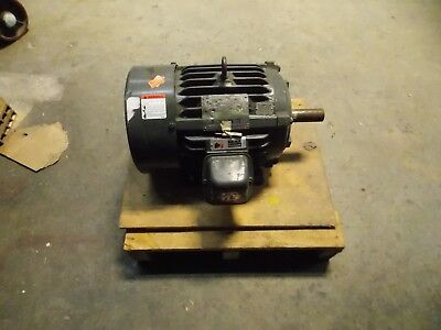 Us Motors Electric Continuous Duty Motor 10 Hp 3510 Max. Rpm 3 Phase Model H313