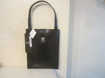 Junya Watanabe Comme des Garcons Black Leather Bag
