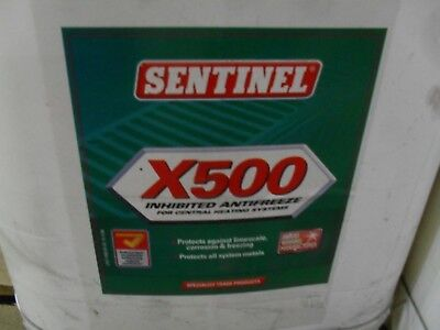 Weil Mclain 592900006 5 Gallon Sentinel X500 inhibited Anti freeze Lot of 90 Gal