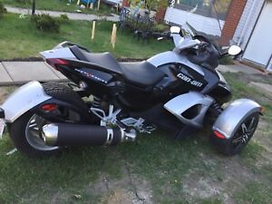 2008 silver can am spyder