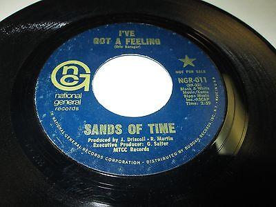 Sands Of Time Ive Got A Feeling 45 7  Vg  Us Gnc Dj 1970 Power Pop Rock Listen